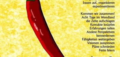 Postkarte Rebellisches Zusammentreffen 2012